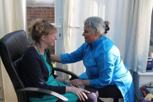 A photo of an EFT Tapping Therapy Session